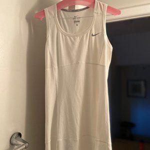 Nike White Tennis Dress - Medium